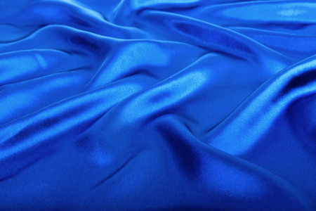 blue silk: Abstract blue background luxury cloth