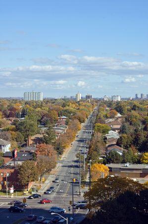 Streets of North York, Ontario photo