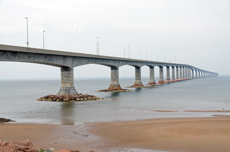 confederation: The Confederation Bridge linking New Brunswick and Prince Edward Island