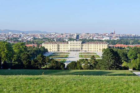 schloss schoenbrunn: Crown prince privy garden of Schonbrunn Palace in Vienna,