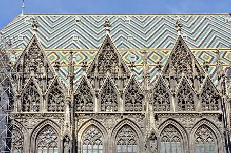 saint stephen cathedral: Stephans dom in Vienna,Austria