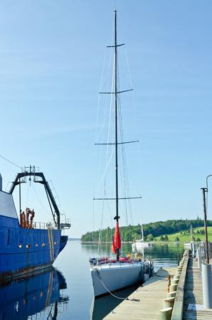 scotia: Harbor of Lunenburg, Nova Scotia, Canada.