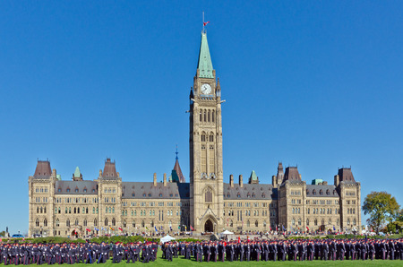 historic buildings: Historic buildings in Downtown Ottawa, Canada