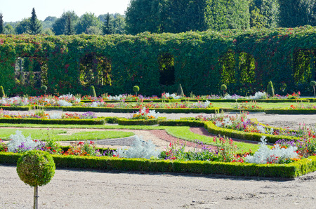 schonbrunn palace: Crown prince privy garden of Schonbrunn Palace in Vienna,