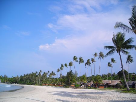 Stretch of beach at Bintan, Indonesia. A lovely getaway from the busy life.