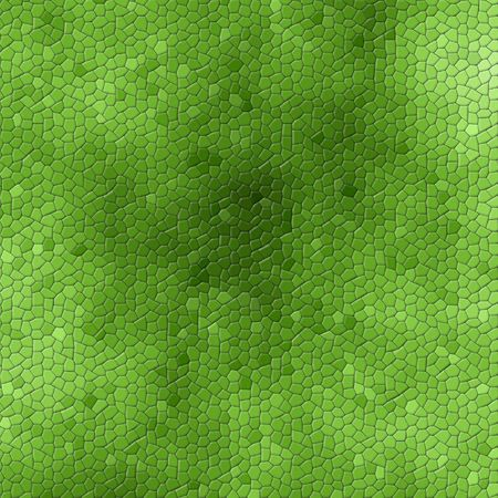plain backgrounds: A background of green snake skin or mosaic background Stock Photo