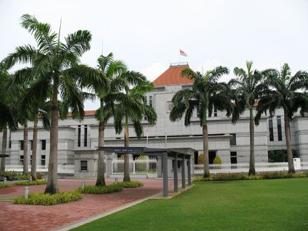 interpretations: Parliament House is within walking distance from City Hall MRT. All Parliament sittings are open to the public at Parliament House. During sittings, simultaneous interpretations of the debates (in English, Malay, Mandarin and Tamil) are provided.