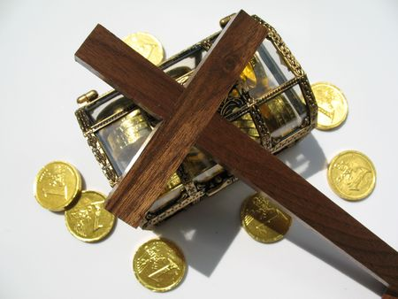 god box: Money, tithe to be used for the Kingdom of God