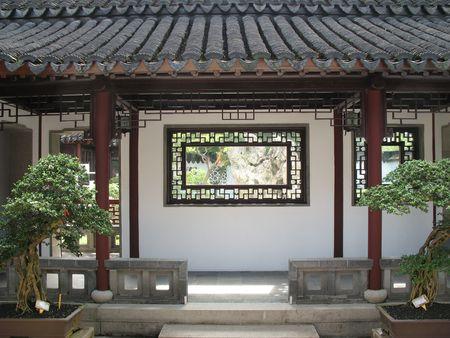 Un nettamente orientale e cinese buillding trovato a Singapore
