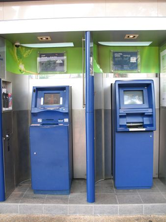 Two ATM Machines found along the street