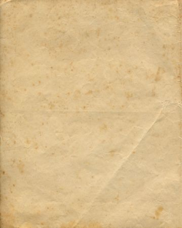 scan paper: Vintage Paper #10 Stock Photo