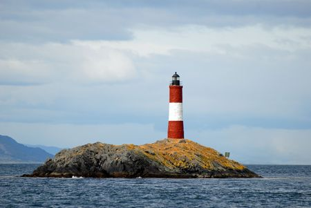 tierra: Famous lighthouse on the Beagle ChannelThis is near Ushuaia, Argentina. Tierra Del Fuego.