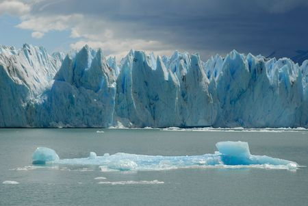 The Upsala glacier in Patagonia, Argentina.Lake Argentino, El Calafate photo