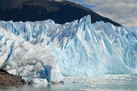 patagonia: The Perito Moreno Glacier in Patagonia, Argentina.Lake Argentino, El Calafate
