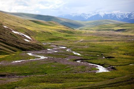 Assy plateau in Tien-Shan mountain Kazakstan