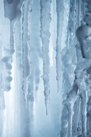 icily: Inside in winter ice fall