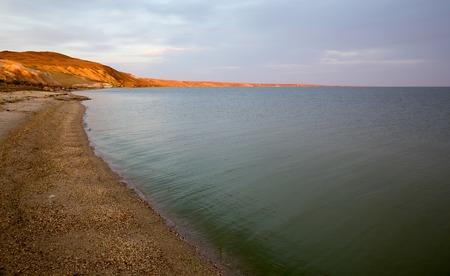 non urban: Lake Zaysan in eastern Kazakhstan Stock Photo
