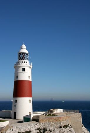 gibraltar: Trinity Lighthouse, Gibraltar (Europe Point)