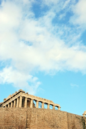 PARTHENON IN ACROPOLIS - ATHENS, GREECE  photo