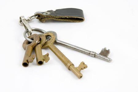 the switch: Railroad chiavi per interruttori.  Archivio Fotografico