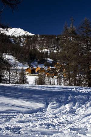 Ski holiday center in Puy st. Vincent