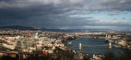 Panorama of the Budapest photo