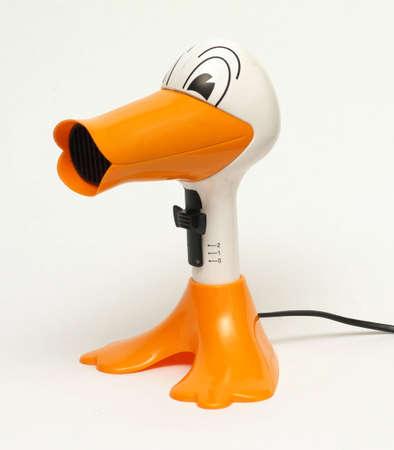 Hair dryer duck