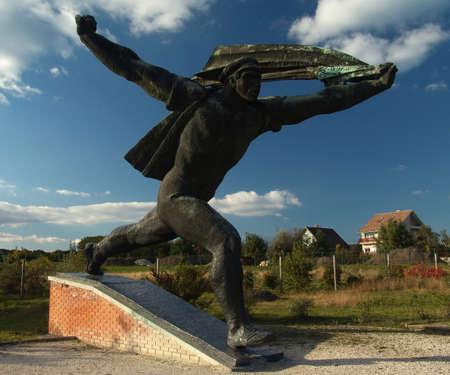 Communism statue from Hungary (Budapest)