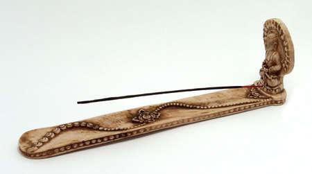 flavor stick in a holder
