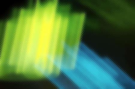 bluegreen: Blue-Green neon abstraction