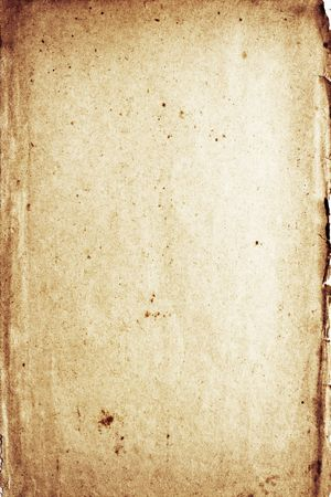 spoted: Pale distressed grunge rotting spoted paper with dark borders