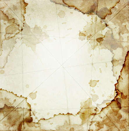 creases: Grunge messy paper with creases