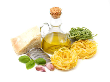tagliatelle: Italian tagliatelle Stock Photo