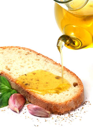 Bruschetta: Italian bruschetta Stock Photo