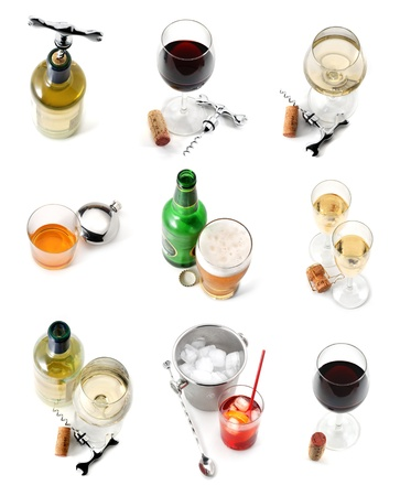 Drink collection Stock Photo