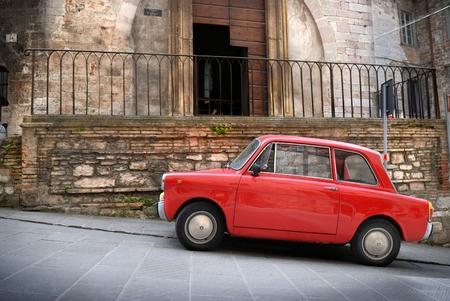 Italian old car Stock Photo