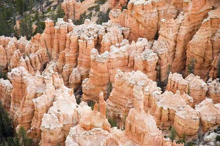 john wayne: close-up view of Bryce Canyon hoodoos National Park, Utah, USA