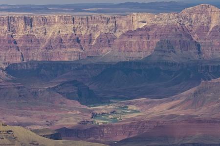 Arizona, USA - May 2th, 2006   Grand Canyon scenic view of South Rim and Colorado River, Arizona, USA Stock Photo - 12813751