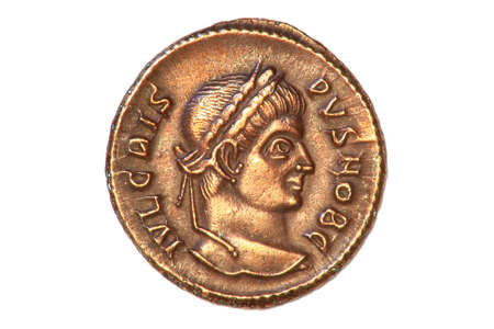 Roman coin of the Emperor Crispus, 317-326AD.