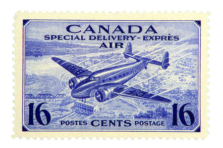 Canadian Airmail stamp of 1942.