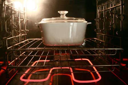従来の国内オーブン中調理しています。