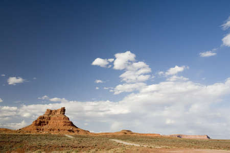 A hill in Valley of the Gods, Utah photo