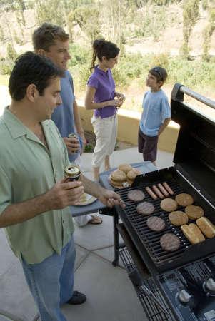 Family at BBQ