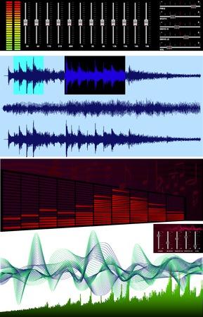 mixing board: Wave editor, spectrum analyzer