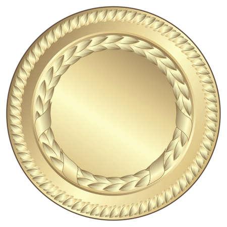 goldmedaille: Gold-Medaille - Dieses Bild ist eine Vektor-Illustration und kann zu jeder Grösse geändert werden ohne Verlust der Auflösung