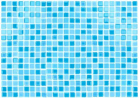 colorful modern mosaic tile in a bathroom - vector format Vector