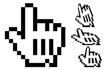 Vector Hand Cursors Vector
