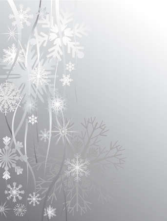hoarfrost: Christmas background - This image is a illustration