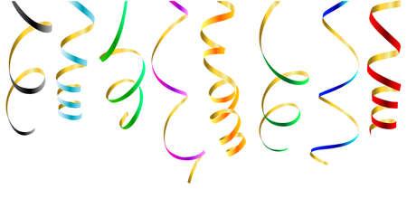 image size: Partido de serpentinas. Esta imagen es una ilustraci�n vectorial y se puede escalar a cualquier tama�o sin p�rdida de resoluci�n