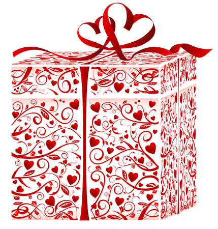 Gift box. This image is a vector illustration  Vector